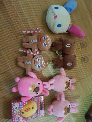 🚚 9個玩偶
