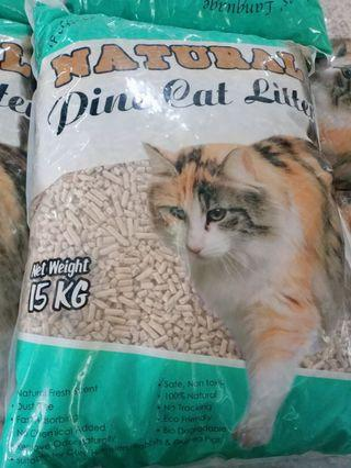 NATURAL PINE CAT LITTER 15KG