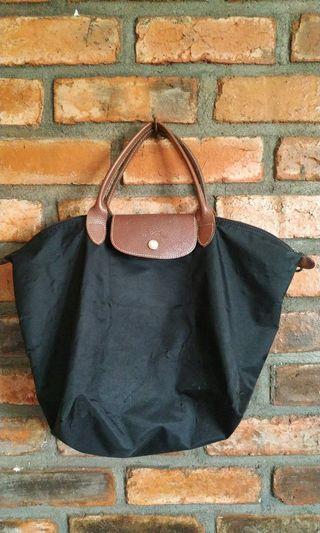Authentic Longchamp warna hitam