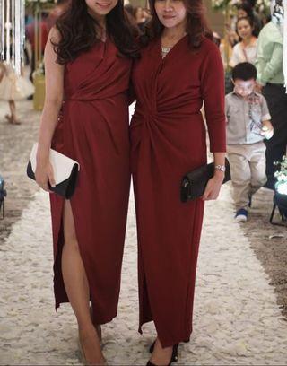 Dress - Gaun Merah