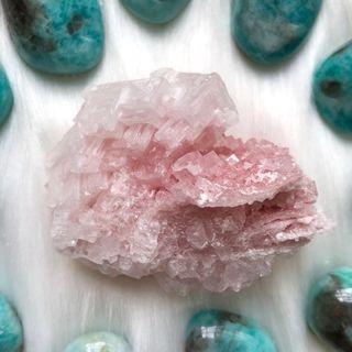 Pink Halite Cluster #27