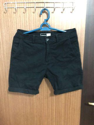 🚚 Black Shorts cotton on