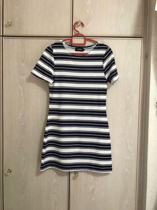 Temt Basic Stripes Dress
