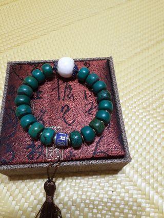 🚚 綠松石手串(多年收藏品)男款