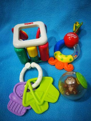 Assorted Baby Toys 100