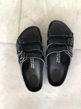 Triple strap shoes - Black