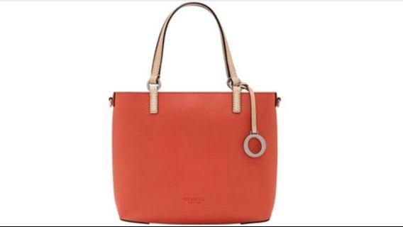 OROTON SMALL RED BAG