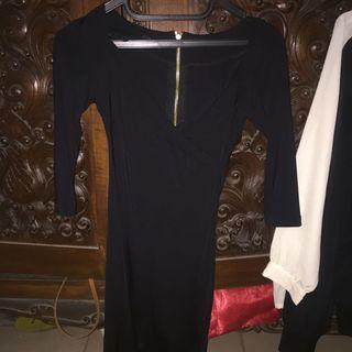 minidress black (bodycon)