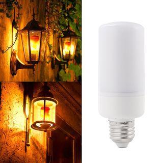 LD1257 E27 LED火焰仿真燈火效果燈泡閃爍照明為聖誕節萬聖節假日派對裝飾