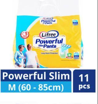 Adult pull up pants. 4 pkts get 1 free