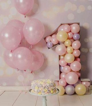 Number Balloons Standee Display