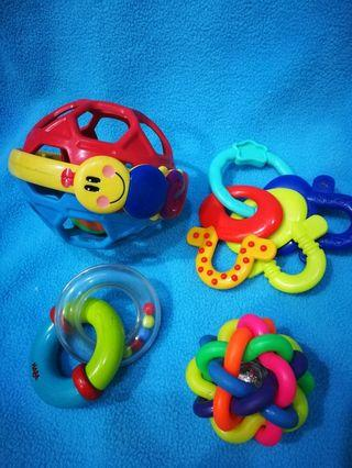Assorted Baby Toys 101