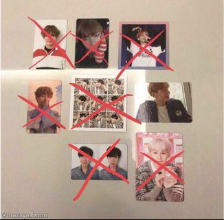 [ WTT ] BTS Official Love Yourself Her Tear Epilouge Seasons Greeting You Never Walk Alone YNWA Happy Ever After HYYH PT 1 Photocard