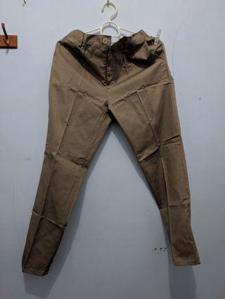 Baggy Pants/ Celana Bahan Katun / Celana Kekinian