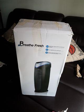 Breathe fresh air purifier uv hepa