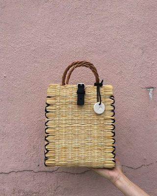 葡萄牙handwoven basket手織袋