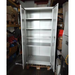 Grey 2 Door Metal Cabinet for sale @$80 each