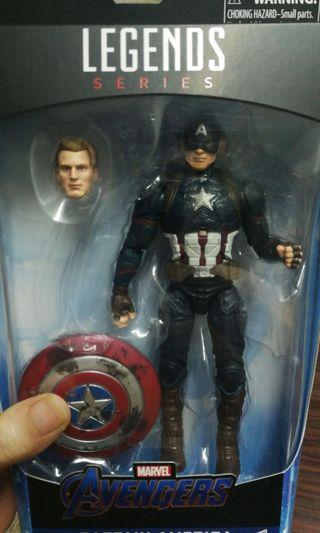 Marvel legends worthy captain America endgame
