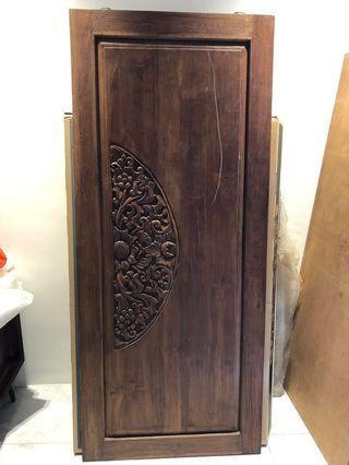 Antique Teakwood Uniqued Featured Door/Panel/Wall Deco Sale/Trade