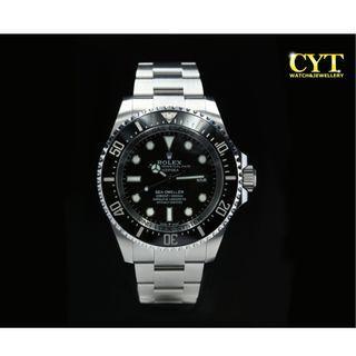 Rolex Sea-Dweller Deepsea Black #MGAG101