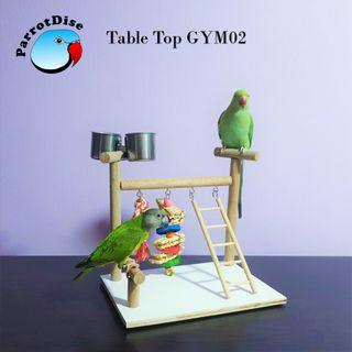 Parrot bird table to play GYM02