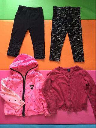 2-3歲風褸/外套/長褲