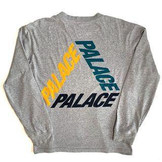 🚚 Palace P3 Grey L/S