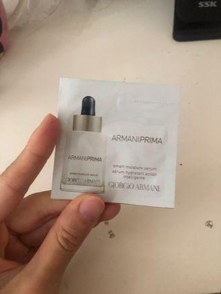 Giorgio Armani Smart Moisture Serum Sample