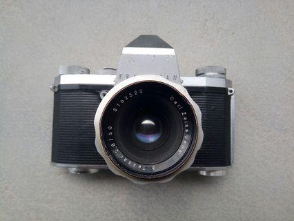 Carl Zeiss Jena 50mm f2.8 M42 praktica film camera 菲林相機