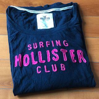 Hollister navy top *** 只限順豐到付不設面交 SF delivery paid by receiver only ***