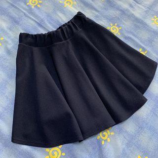 🚚 Navy Skater Skirt