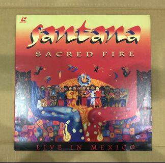 Santana Sacred Fire Laserdisc LD