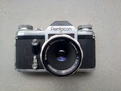 Steinheil 50mm f2.8 M42 pentagon f film camera 菲林相機
