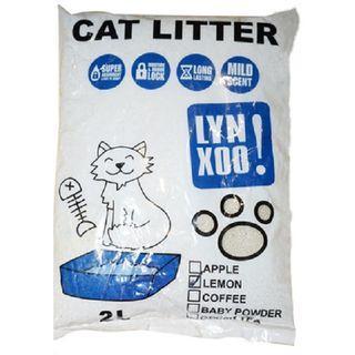 Pasir kucing kemasan 2L