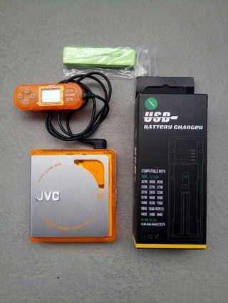 JVC minidisc MD player Walkman