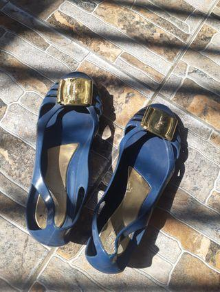 Jelly Shoes Sepatu flatshoes