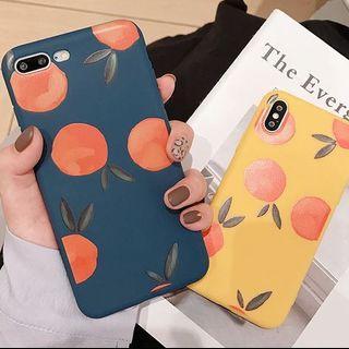 Orange & Cherry Iphone Case