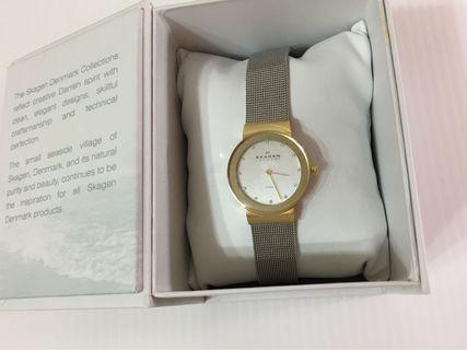 Skagen 金銀兩色手錶