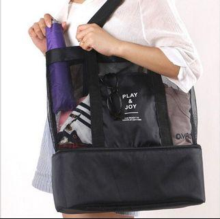 Beach & Picnic insulated cooler tote bag