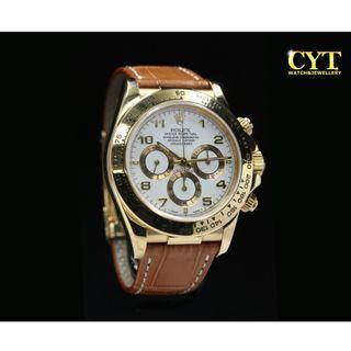 #MGAG101 Rolex Cosmograph Daytona Gold
