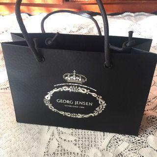 🚚 國外品牌Georg Jensen紙袋/禮物袋/禮品袋/手提袋/購物袋/收納袋
