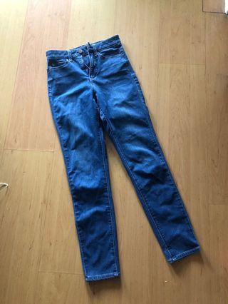 🚚 Uniqlo Skinny Fit Jeans size 22