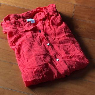 Gap orange blouse *** 只限順豐到付不設面交 SF delivery paid by receiver only ***