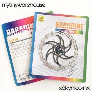 Taiwan Baradine 160mm Disc Rotor (Black)
