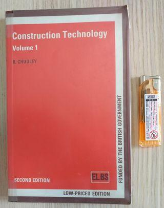 Construction Technology Vol.1  ISBN 0582082056 R. Chudley