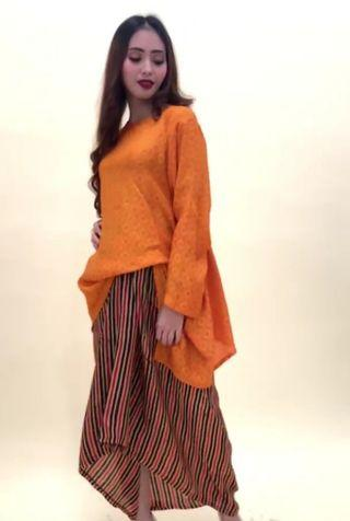 Baju Raya Preloved top and bottom
