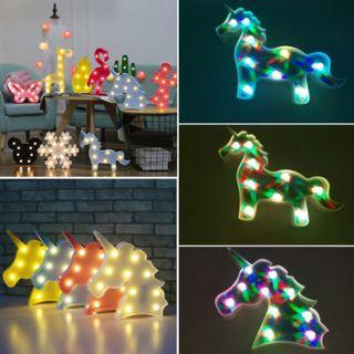 [NEW] Unicorn LED Night Light Wall Table Lamp Kids Decor