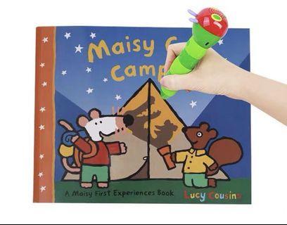 Maisy Goes Camping story book 毛毛蟲 點讀