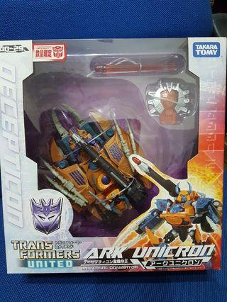 Transformers United Ark Unicron