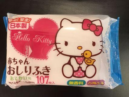 💕( Made in Japan ) - Hello Kitty Wet Wipes